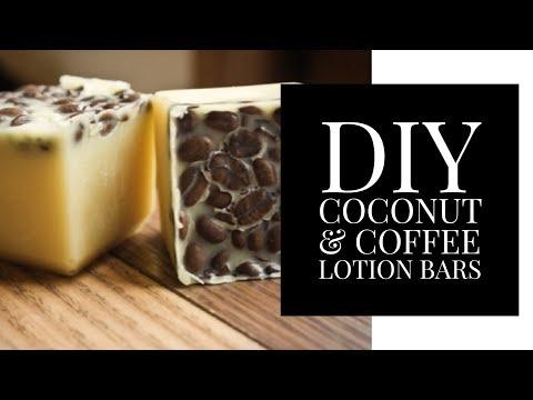 DIY Coconut & Coffee Lotion Bars! (Lush Inspired) LUSH LOTION BARS | Pre'Knechia Ja'Nae
