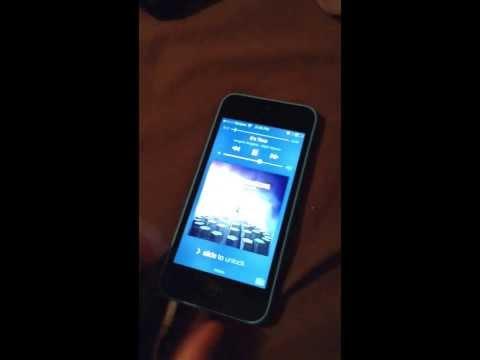 My iPhone 5c blue verizon