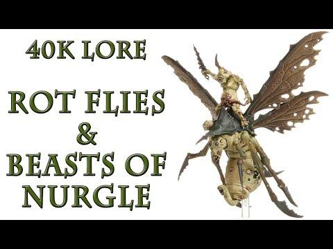 Warhammer 40k Lore - Rot Flies & Beasts of Nurgle