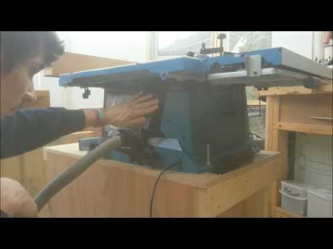 How to build a cheap Table saw stand from scrap. PT2