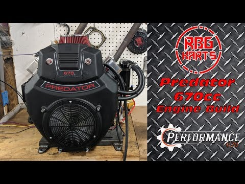 Predator 670cc Performance Engine Build