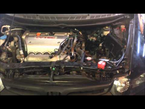 2007 Honda Civic Si Clutch Install