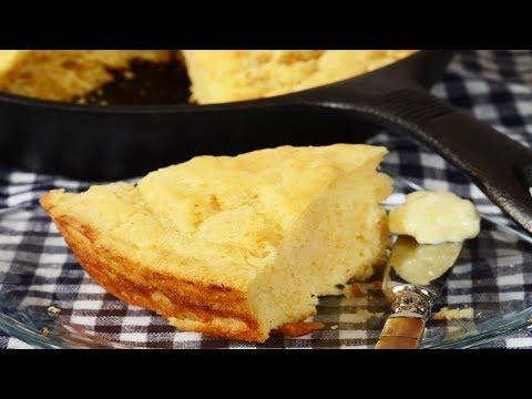 Cornbread Recipe Demonstration - Joyofbaking.com