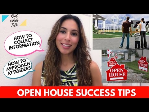 New Real Estate Agent Tips: Open Houses and Collecting Info