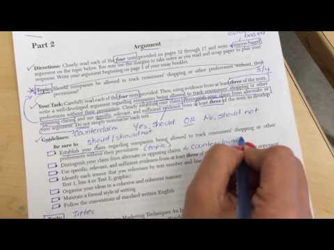 ELA CC Regents - Part 2 Directions Explanation (ENGLISH version)