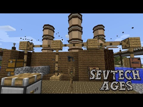 Mechanical Power at Last : SevTech Ages Lp Ep #8 Minecraft