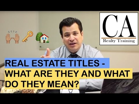 Ep. 22: Real Estate Agent, Realtor, Broker | What Is The Difference?