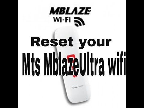 mts mblaze ultra wifi (reset guide)