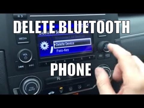 How to Delete Bluetooth Device on 2016 Honda Civic Radio