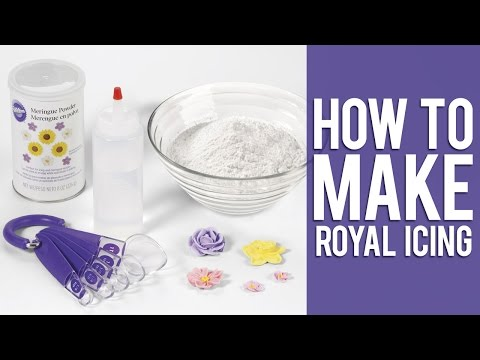 How to make Wilton Royal Icing