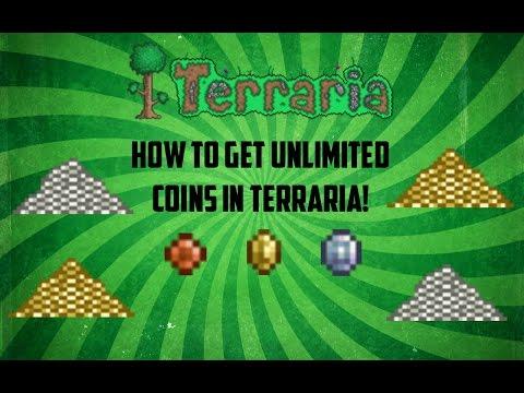 Terraria ios 1.2.4 | Super easy way to duplicate coins! (All platforms) [2016]
