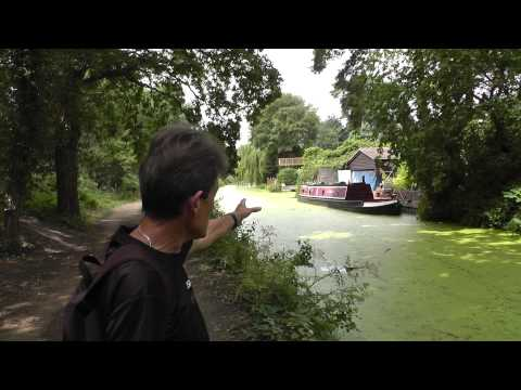 The Basingstoke Canal with Deric & Geoff