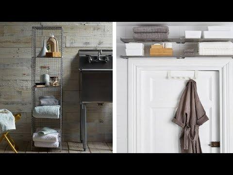 🌼 8 Ways to Do Storage in a Small Bathroom 🌼