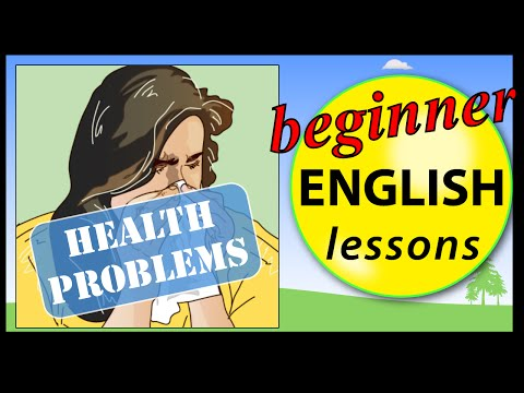 Health problems in English | Learn English Lessons - Beginner vocabulary
