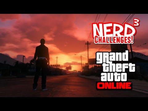 Nerd³ Challenges! Bounty Survival! - GTA Online