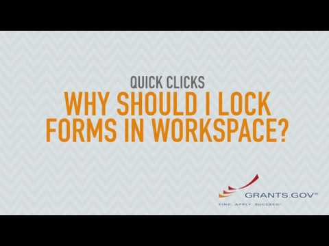 Quick Clicks: Why Should I Lock Forms in Workspace?