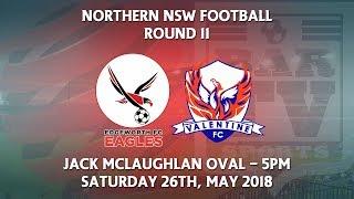 2018 NNSWF NPL Round 11 - Edgeworth Eagles FC v Valentine Phoenix FC