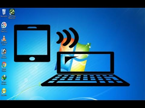 HOW TO MOBILE CAMERA CONNECTING LAPTOP WIFI Wireless