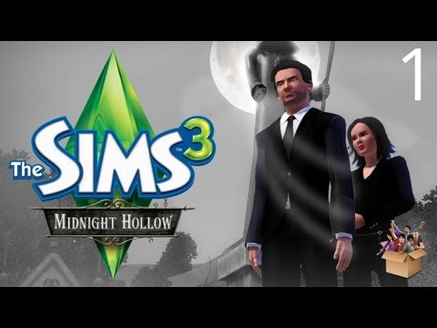 Let's Play The Sims 3 - Midnight Hollow - Part 1