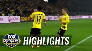 Borussia Dortmund vs. Mönchengladbach | 2017-18 Bundesliga Highlights