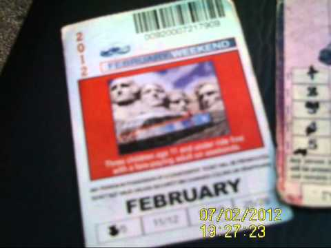 My Metra Ticket Collection