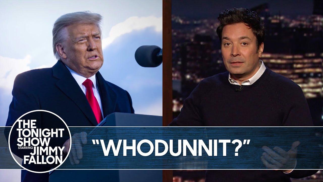 Democrats Say Trump Is Responsible for Capitol Riots | The Tonight Show