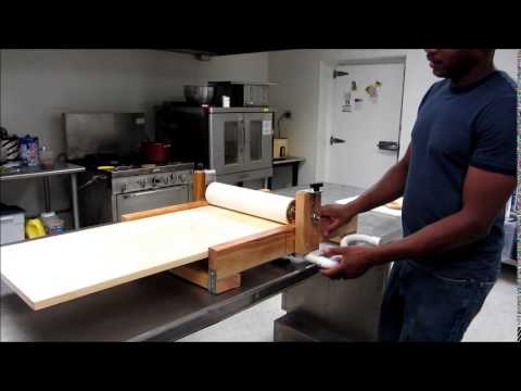 Island Seasons Mobile Kitchen: Jamaican Beef Patty Dough Roller