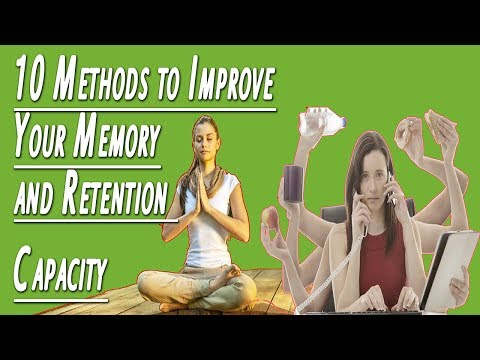 ➤  How to Improve Memory - 10 Methods to Improve Your Memory and Retention Capacity