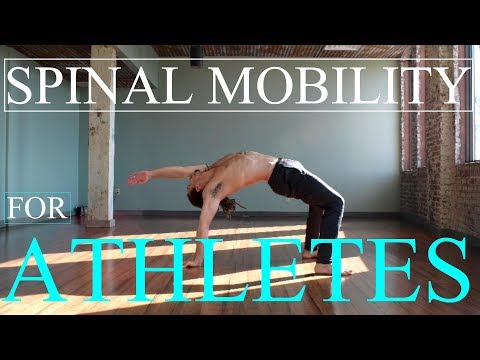 4 Mobility Drills for Athletes with Stiff Back and Shoulders
