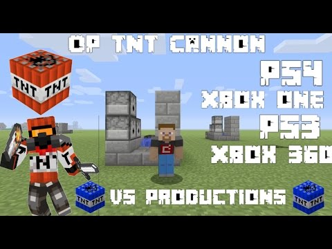 How To Make a OP Tnt Cannon In Minecraft Ps4-Ps3-Xbox 360-Xbox One-Pe-Pc
