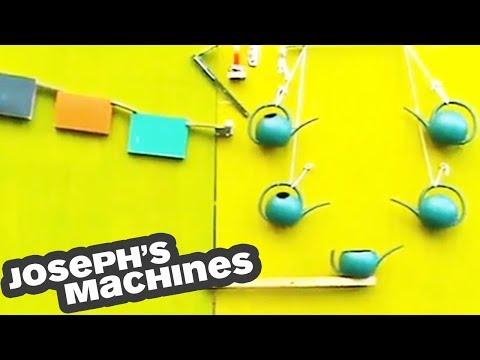La Macchina Botanica at Venice Biennale   How to Water a Plant (Rude Goldberg)   Joseph's Machines
