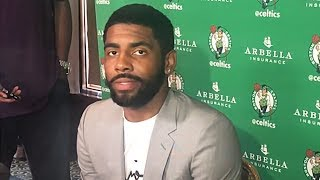 Kyrie Irving On Possible LeBron James Reunion In Boston, Uncle Drew Movie, Celtics Future, & More