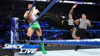 The Hype Bros vs. The Usos: SmackDown LIVE, Aug. 22, 2017
