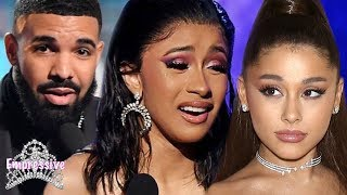 Download Grammys 2019 Recap: Ariana Grande shades Cardi B's win, Drake, J Lo, etc. Video
