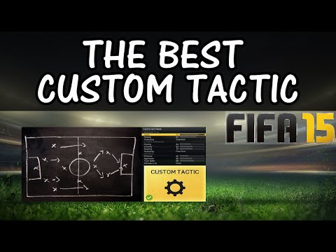 THE BEST CUSTOM TACTIC in FIFA 15 / FUT & H2H / Best Attack & Best Defence / Best FIFA Guide