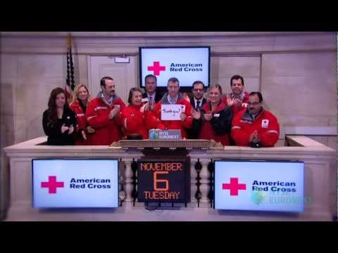 NYSE Euronext Recognizes American Red Cross for Hurricane Sandy Victim Relief Operations
