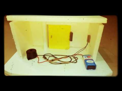 School Project - Burglar Alarm Model ( www.schoolprojectcenter.in )