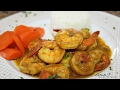 Easy Coconut Curry Shrimp Recipe | Valentines Dinner Idea | Episode 80