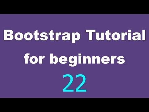 Bootstrap Tutorial for Beginners - 22 - Collapse navbar