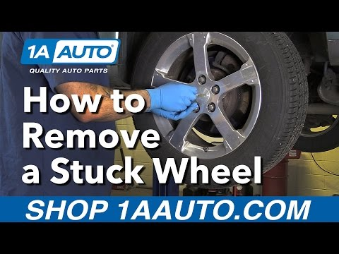 Have a Wheel Stuck? Here's a tip on how to get it loose