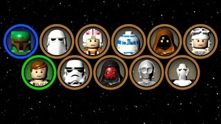 LEGO Star Wars: The Complete Saga - Blue Minikit Guide #9 - Chapters 1-3 (Episode V)
