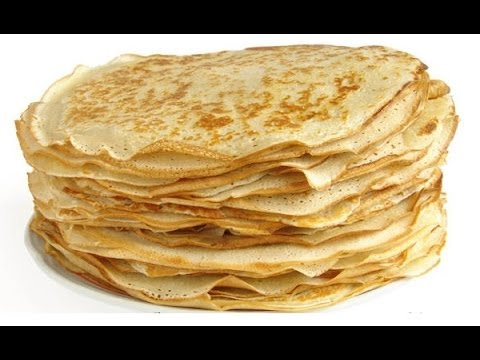 Russian style cooking: Blini - The Russian Pancakes. Easy but super-tasty crepes recipe