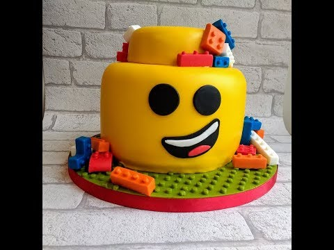 Lego Cake . . . . How to