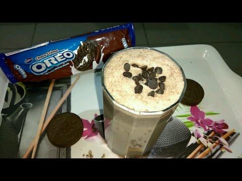 Oreo Milkshake Recipe without Ice Cream in Hindi | Homemade Smoothie for Kids  | Tasty Recipe