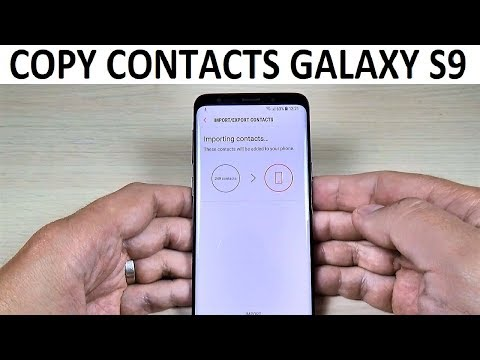 How to COPY CONTACTS from SIM to Phone on Samsung Galaxy S9