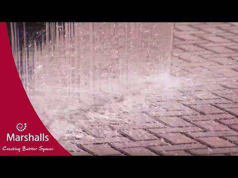 Permeable Paving vs 3 Tonnes of Water   MarshallsTV