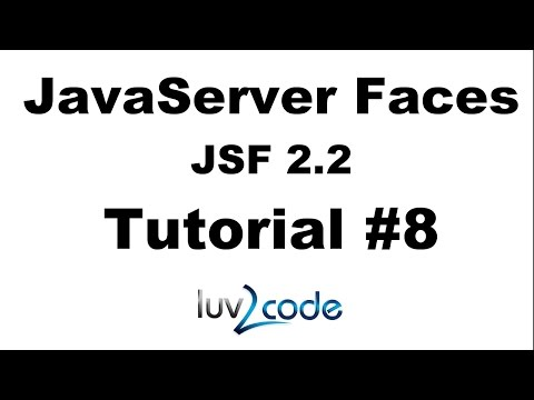 JSF Tutorial #8 - Java Server Faces Tutorial (JSF 2.2) - Connect Eclipse to Tomcat
