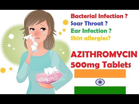 Azithromycin Tablet 500 mg Review in Hindi | Azithromycin Tablet