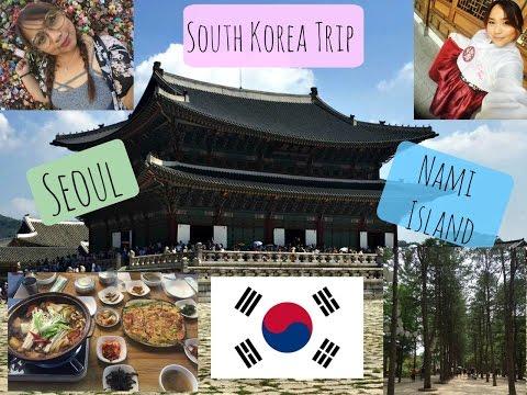 SOUTH KOREA TRIP VLOG (SEOUL, NAMI ISLAND, MYEONGDONG)