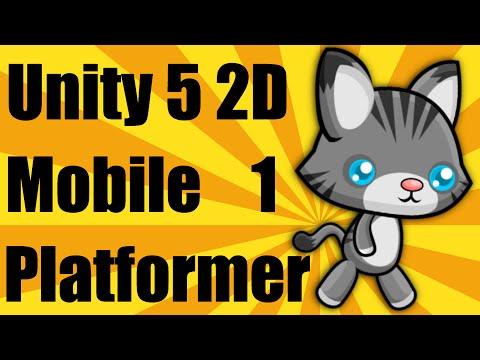 Unity 5 2d Mobile Platformer Tutorial - Part 1